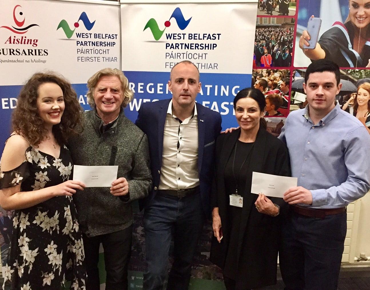 Aisling Bursary Awards 2017 Connected Health proud sponsors