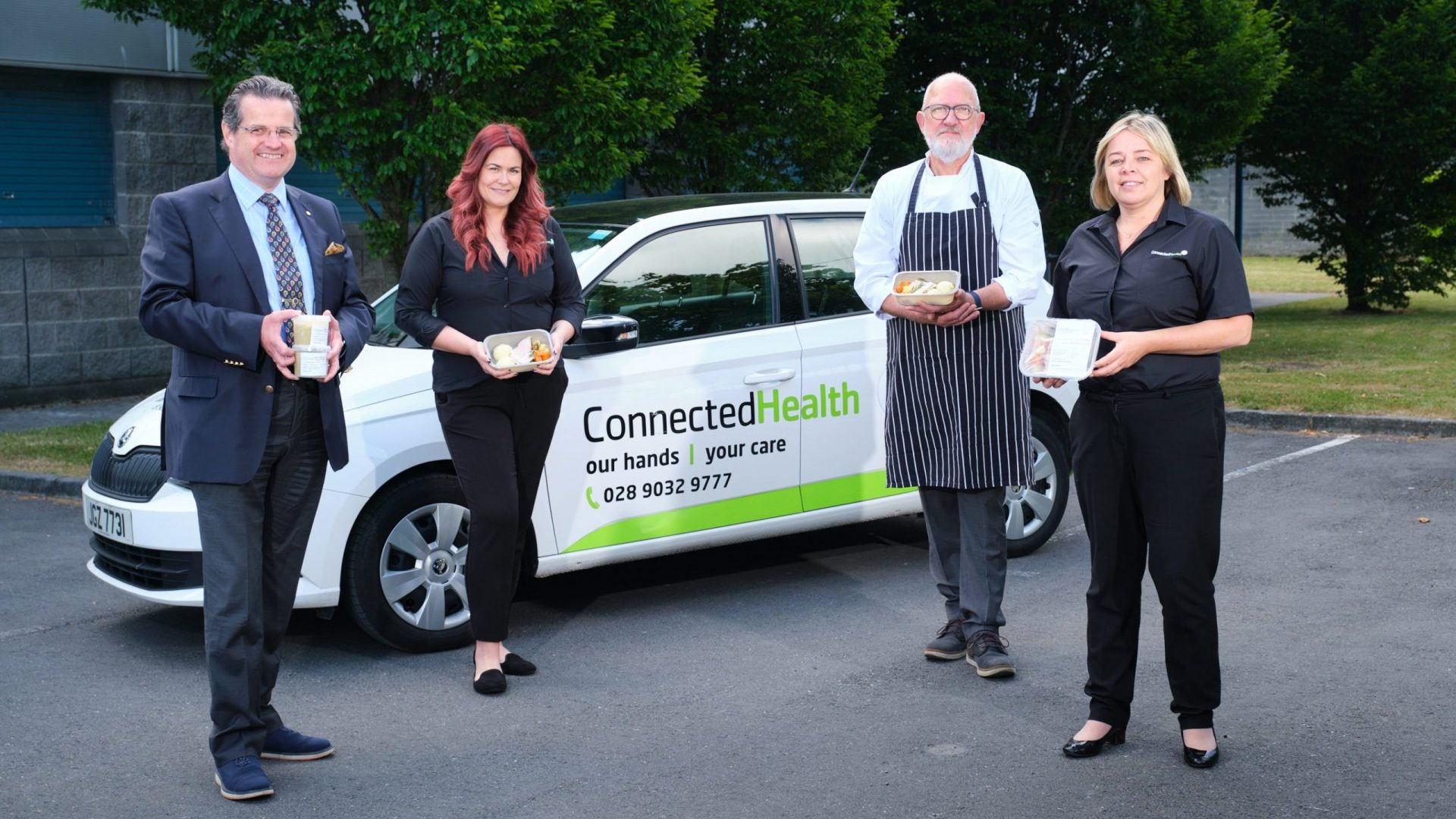 Launch of Connected Nutrition Pilot with Carroll Foods and Connected Health.