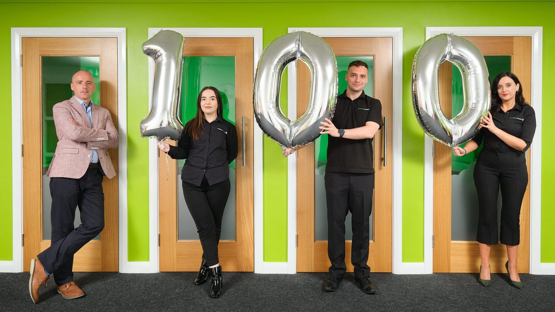 100 Carer Jobs in 7 days - Launch Photo