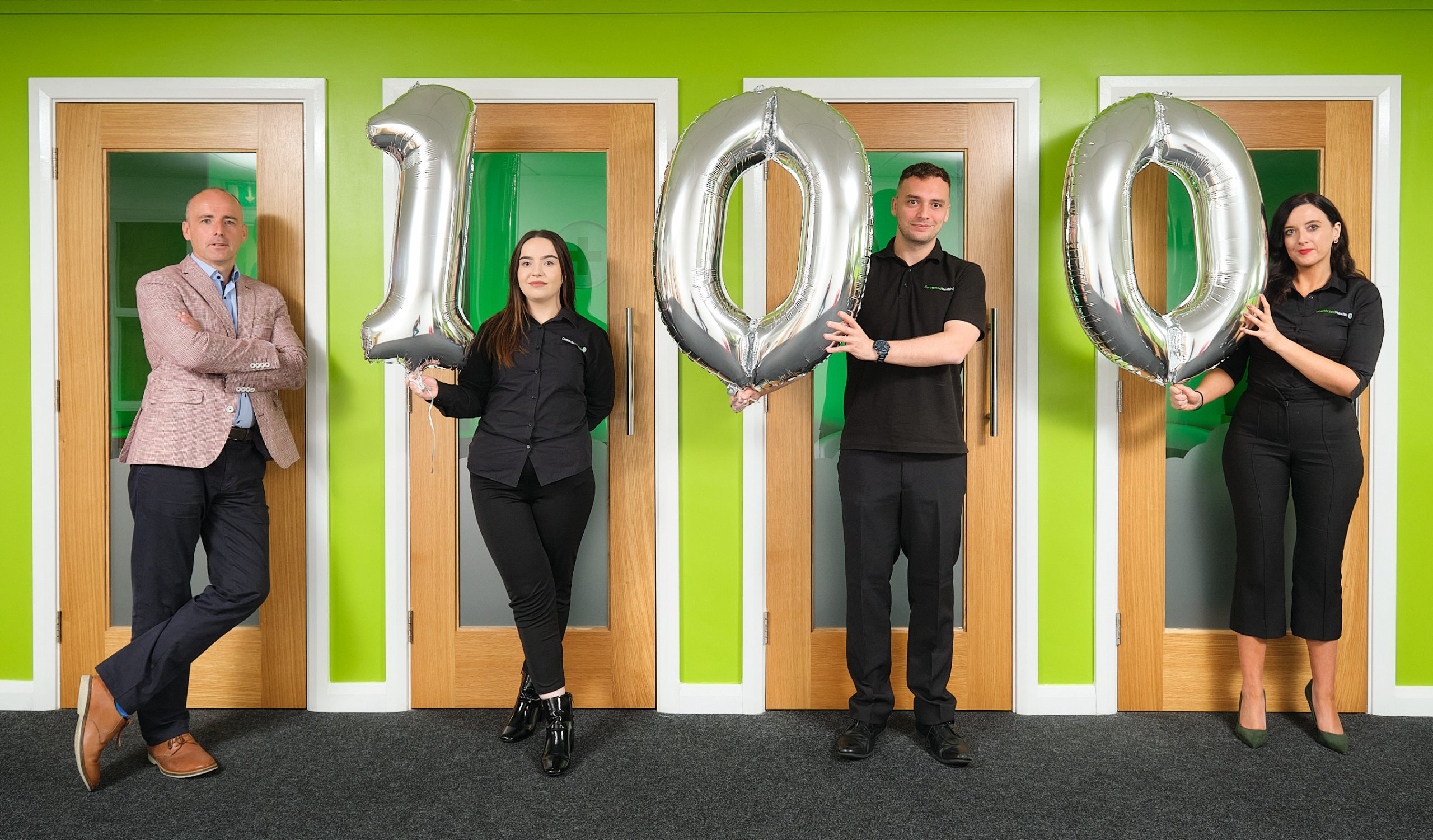100Jobs in 7 days - Launch Photo